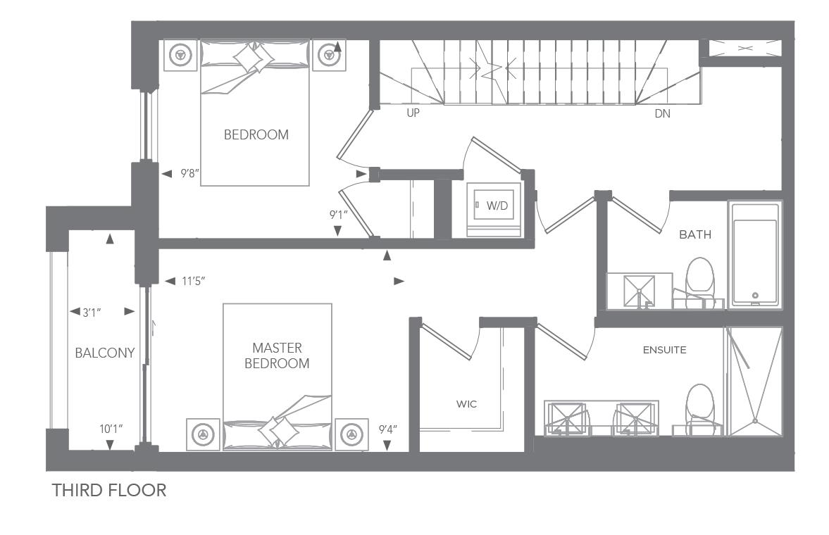 No. 5 Floorplan 3