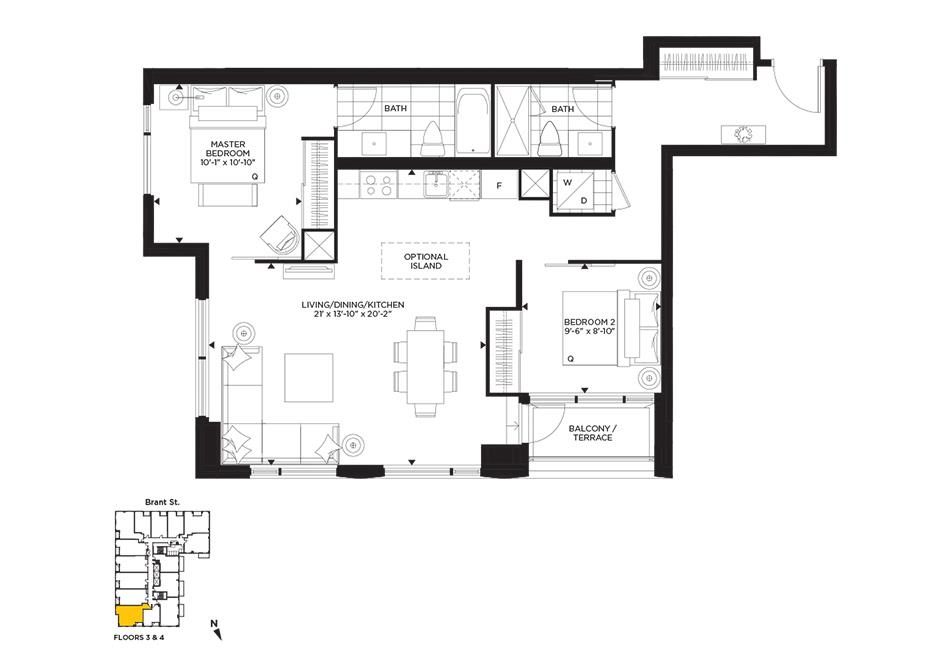 Collage Floorplan 1