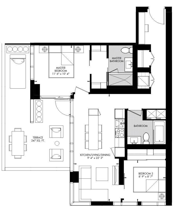 Yorkville 63 Floorplan 1
