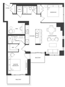 Suite 302/402 Floorplan 1