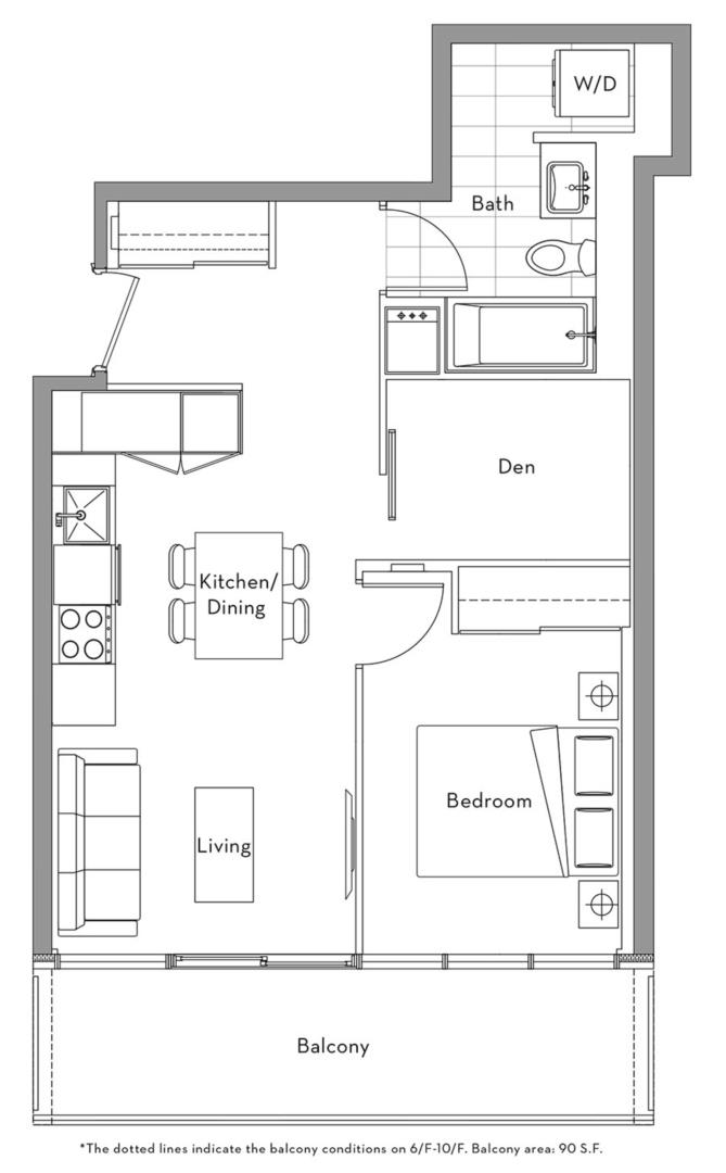 The Lakefront Collection - 001 Floorplan 1