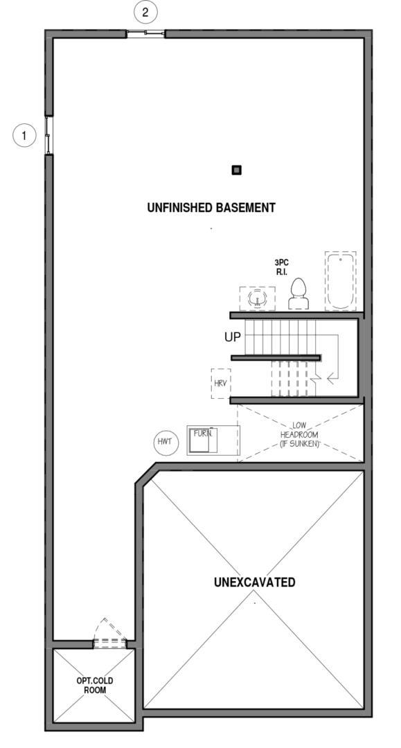 The Hampton 34 IV B Floorplan 3