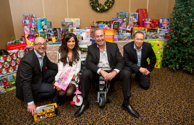 Kylemore's Annual Holiday Party Collects Hundreds of Toys for York Region Families Image