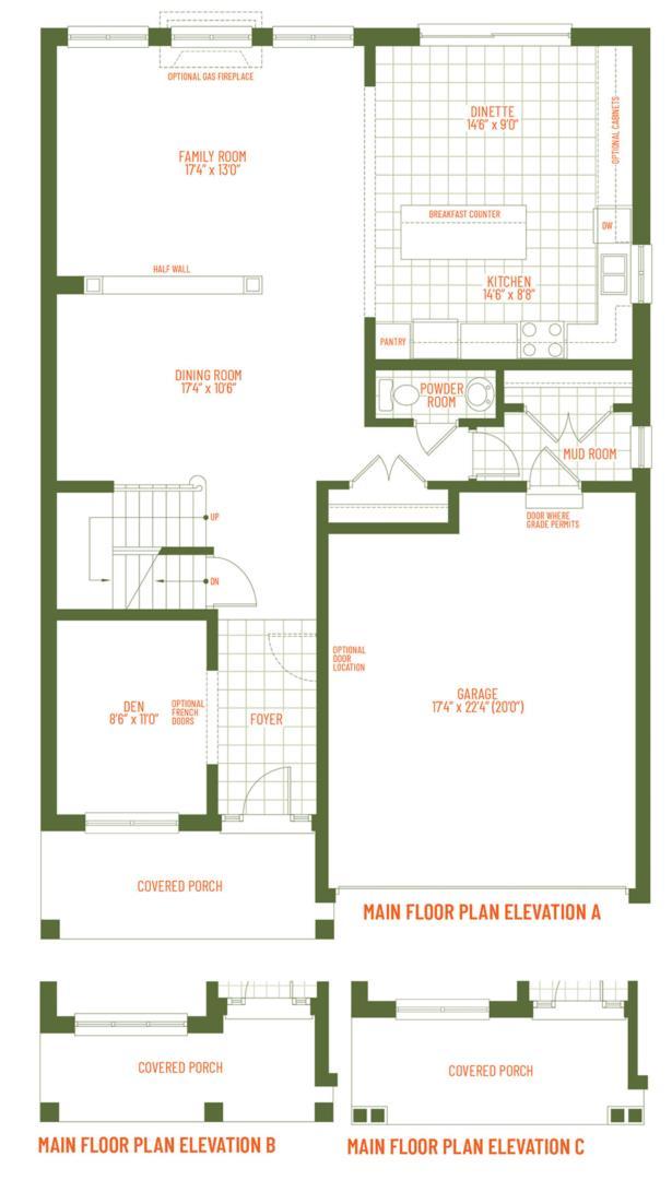 The Muirfield Floorplan 1