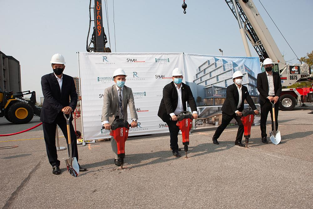 Samm Developments Breaks Ground at Regal Plaza Corporate Centre Image
