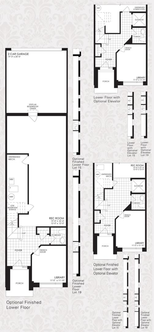 The Oxford Collection - The Oxford 1 Floorplan 3
