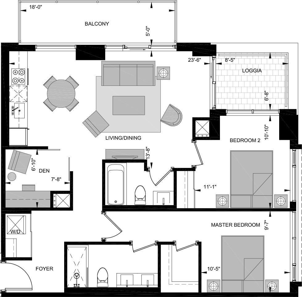 LNE-W Floorplan 1