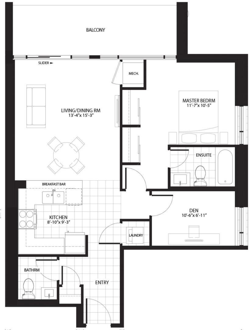 Bourbon Floorplan 1