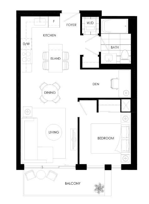 Ortega 580E Floorplan 1