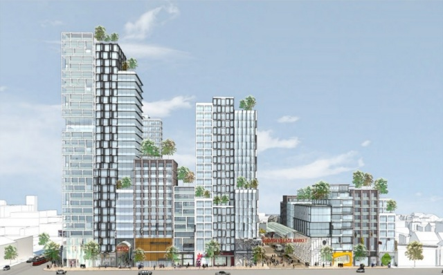 Westbank Unveils Design Concept For Bloor And Bathurst Master Plan