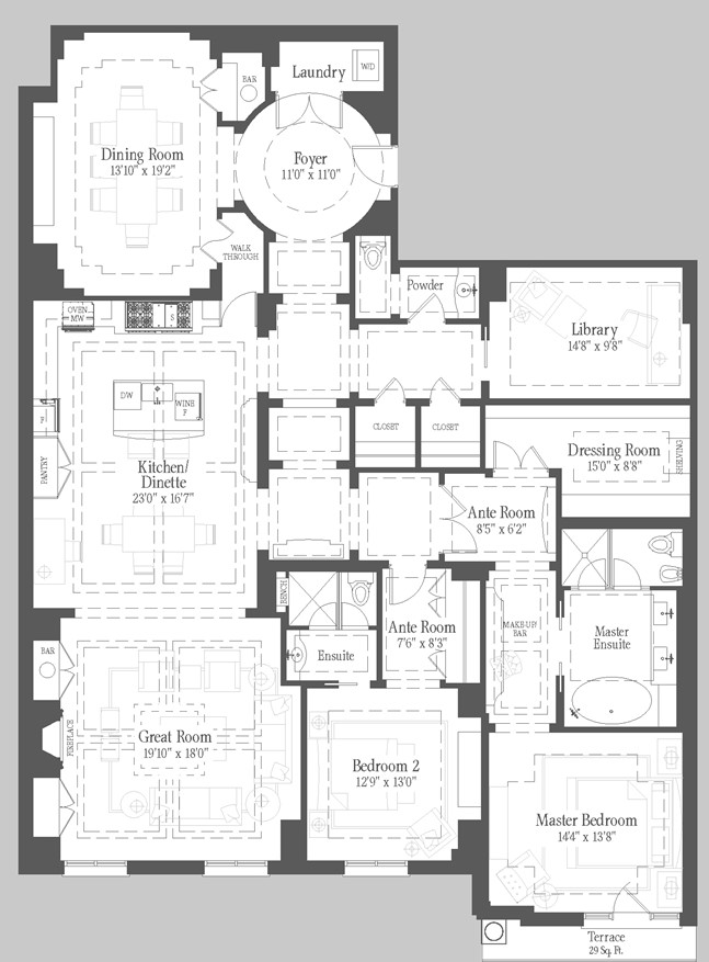 Sumner - 310 Floorplan 1