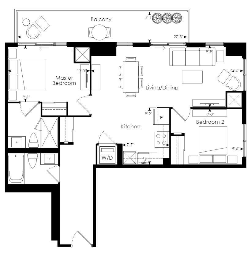 Tower 01 Floorplan 1