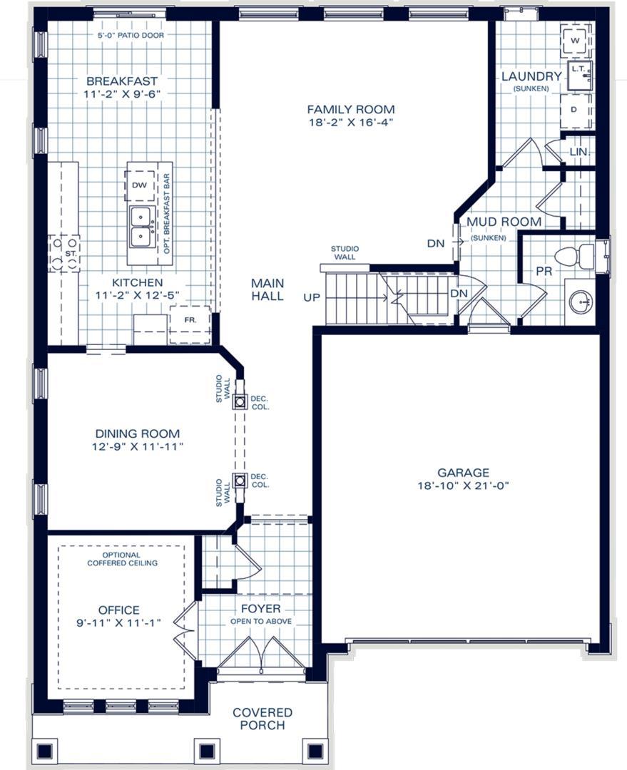 The Belmont B Floorplan 1